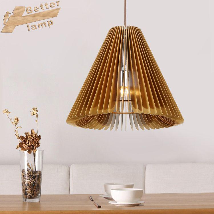 美式吊灯客厅灯 简约吊灯 现代个性创意餐厅灯 原木木艺吊灯