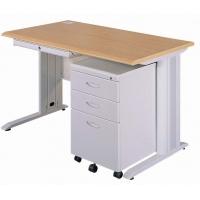 钢制办公桌钢木办公桌行政主管桌