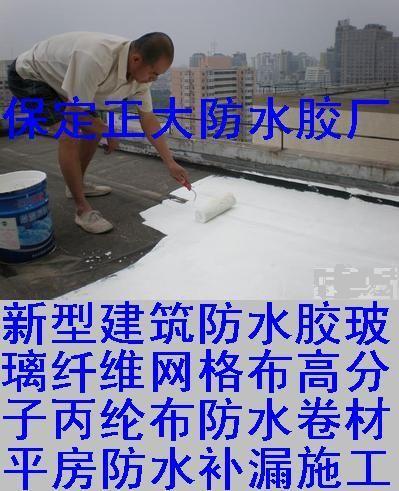 防水胶玻璃纤维网布高分子丙纶布防水卷材平