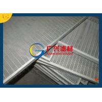 衡水广兴滤材楔形筛板条缝筛板电缆板沟盖板GX16