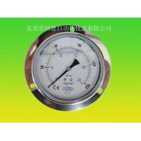 轴向充油耐震压力表