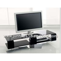 热弯钢化玻璃客厅电视柜 现代客厅玻璃电视柜 客厅家具电视柜