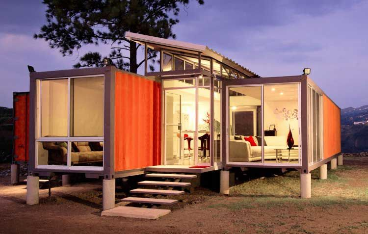 青岛轻钢别墅出售丨集装箱丨钢结构建筑