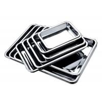不锈钢方盘托盘餐盘