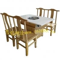 实木火锅桌,柏木火锅桌,火锅桌图片-成都实木火锅桌