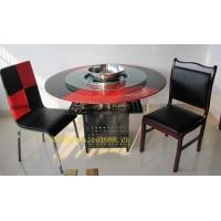 火锅桌-火锅桌椅-钢化玻璃火锅桌-酒店桌椅