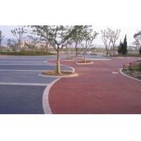 供甘肃彩色透水地坪和兰州彩色透水混凝土地坪