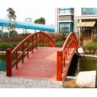 西安 防腐木  绿环木塑 小木桥
