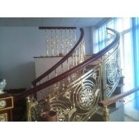 别墅专用-铝艺楼梯扶手-铜艺扶手