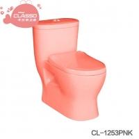 幼儿园工程坐厕陶瓷儿童坐便器马桶连体式彩色坐便器马桶坐式马桶