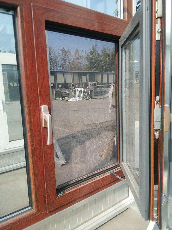 山东断桥铝门窗 铝木复合门窗隔音隔热密封好