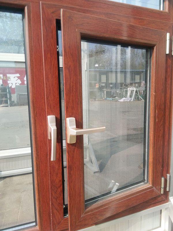 断桥铝隔音窗户 铝木复合门窗 LOW-E镀膜隔音窗户