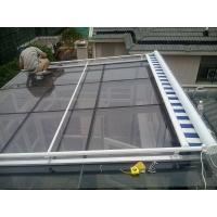 定制阳光房顶遮阳帘 电动遮阳天幕 进口亚克力布