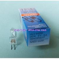 供应OSRAM HLX64250,6V20W卤素灯