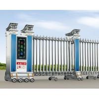 永发自动门 自动伸缩门 工厂学校及小区自动推拉折叠大门