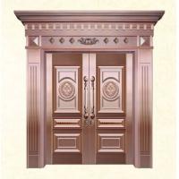 南京不锈铜门、纯铜门-铁强希尔顿铜门
