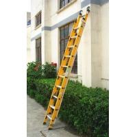 玻璃钢伸缩梯 玻璃纤维升降梯
