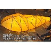 巢虫形羊皮灯工程灯酒店灯具个性大型吊灯宴会大堂灯