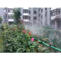 喷雾降温设备_居民小区绿地人造雾降温加湿系统