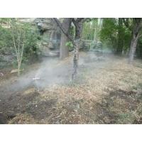 园林别墅喷雾景观设备_餐厅酒店水雾造景系统