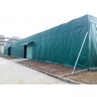 帐篷雨棚伸缩蓬遮阳篷固定棚停车棚洗车棚曲臂蓬