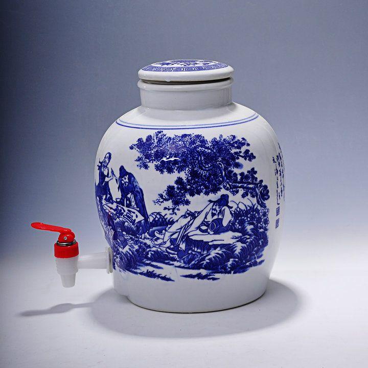 景德镇陶瓷酒坛 的厂家、价格、型号、图片、产地、品牌等信息!-