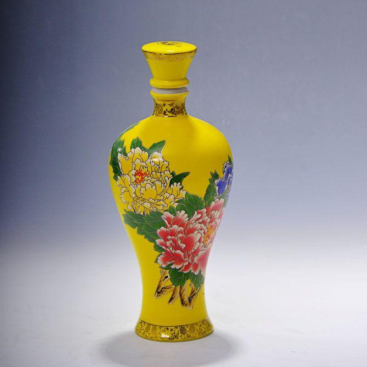 陶瓷酒瓶定做的厂家、价格、型号、图片、产地、品牌等信息!-景德