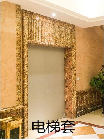 供应仿大理石石塑线条电梯套门套