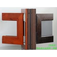 铝木金钢网一体门窗舒适更安全