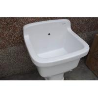正品拖布池洗衣池墩布池陶瓷拖把池拖地槽正品特价促销包邮