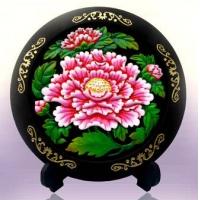 活性炭雕--花开富贵