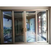 新美峰三轨四扇玻璃,带两扇金刚网纱窗,正面带边线