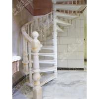 湖州御美佳玉石 仿玛瑙楼梯高档别墅楼梯室内楼梯