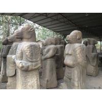 大理石动物雕刻 十二生肖仿古石雕