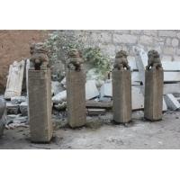 大理石石雕拴马桩 石墩