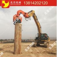 北奕機械震動錘打樁錘液壓式鋼板樁水泥樁