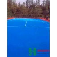 河南郑州球场地坪硅PU特殊球场专用地坪材料