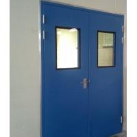 手工板连接不锈钢净化门|洁净门价格