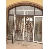 门店使用锰钢折叠室内防盗窗