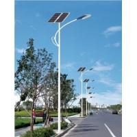 山东新农村建设6米LED太阳能路灯