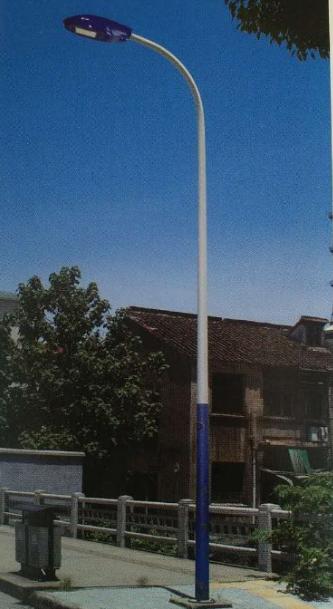 山东路灯生产厂家 8米单弯led路灯 8米led单臂路灯 6