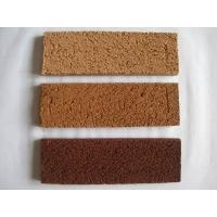 紫砂拉毛砖、墙面砖、外墙砖、陶土砖