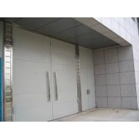物流通道平开钢质大门