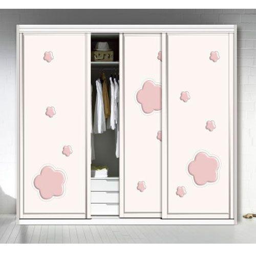 凱豪門業-衣柜門吸塑系列h-3187