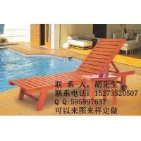 度假村酒店沙滩椅,别墅泳池躺椅