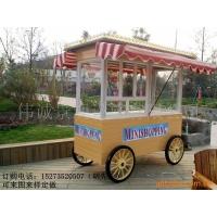 供应游乐场卡通售货车,文化园移动售货亭,样板房景观售货亭