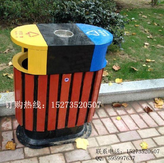 福建厦门垃圾桶【分类、方形、圆形】钢木、不锈钢、实木
