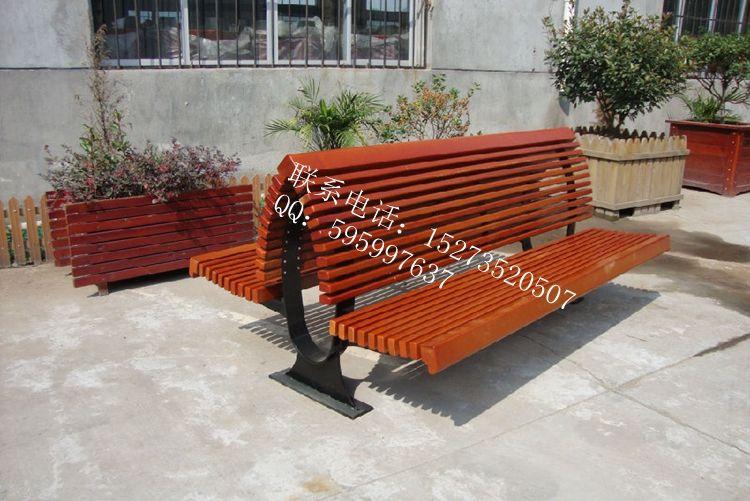 双靠背连体钢木不锈钢公园椅可定做规格可定制