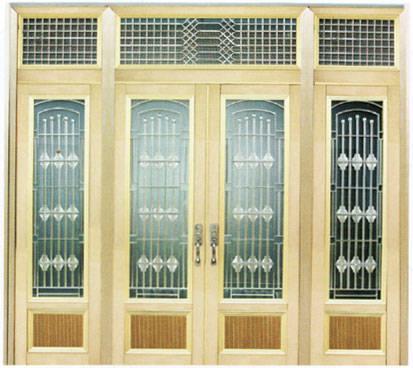 华盛门业-门窗-铝合金门系列