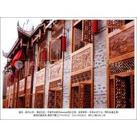 成都定制古建筑门窗实木仿古门窗_中式建筑门窗的厂家
